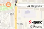 Схема проезда до компании Книжный магазин в Батайске