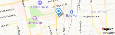 Каблучок на карте Батайска