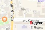 Схема проезда до компании Мегафон в Батайске