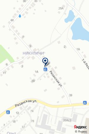 ОРЛАН-ЛАДА на карте Рязани