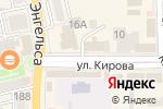 Схема проезда до компании Батель в Батайске