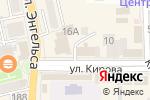 Схема проезда до компании Билайн в Батайске
