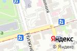 Схема проезда до компании Искушение в Ростове-на-Дону