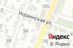 Схема проезда до компании Офис-ОПТ в Ростове-на-Дону
