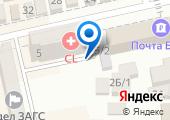 Нотариус Бурляева А.В. на карте