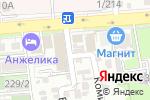 Схема проезда до компании Лабиринт в Ростове-на-Дону