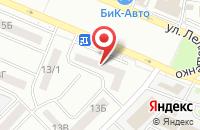 Схема проезда до компании Мицар в Ростове-на-Дону