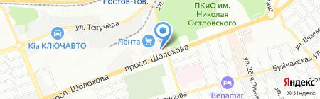 Мистерия на карте Ростова-на-Дону