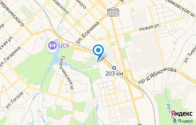 Местоположение на карте пункта техосмотра по адресу г Рязань, проезд Старообрядческий, д 1