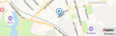 Azard Group на карте Рязани
