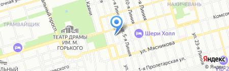 Мир торгового оборудования на карте Ростова-на-Дону