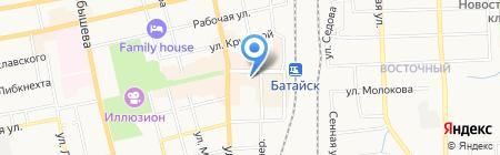 Банкомат АКБ Лето Банк на карте Батайска