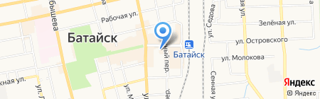 Жилфонд на карте Батайска