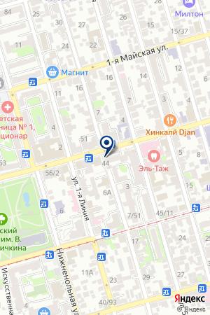 МАГАЗИН ЯБЛОЧКО на карте Советской