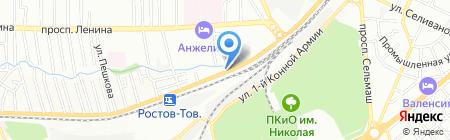 Чук и Гек на карте Ростова-на-Дону