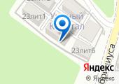 Уютный квартал на карте