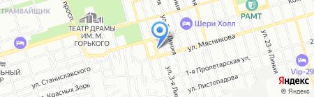 Армада на карте Ростова-на-Дону