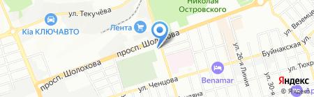 МИР ЗДОРОВЬЯ на карте Ростова-на-Дону
