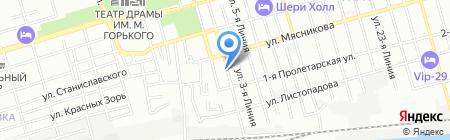 Новый образ на карте Ростова-на-Дону