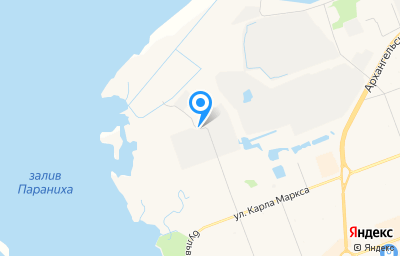 Местоположение на карте пункта техосмотра по адресу Архангельская обл, г Северодвинск, ул Северо-западная, д 41