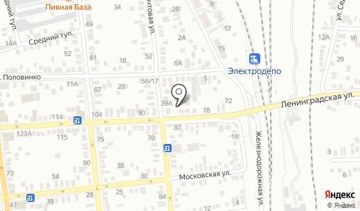 Пласт-Сервис. Схема проезда в Батайске