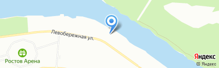 Станица Черкасская на карте Ростова-на-Дону