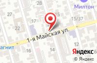 Схема проезда до компании Сайтек в Ростове-На-Дону