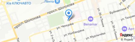 Санаторная школа-интернат №28 для детей нуждающихся в длительном лечении на карте Ростова-на-Дону