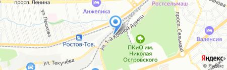 Вентпром-Регион на карте Ростова-на-Дону