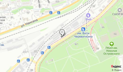 Вентпром-Регион. Схема проезда в Ростове-на-Дону
