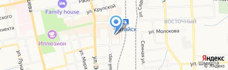 Банкомат Национальный Банк ТРАСТ на карте Батайска