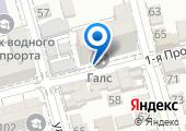 Ростовский институт иностранных языков на карте