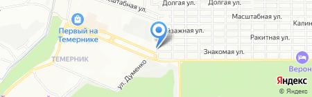 Колпак на карте Ростова-на-Дону