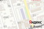 Схема проезда до компании Prof Бухгалтерия в Ростове-на-Дону
