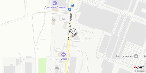 Альмерия. Схема проезда в Ростове-на-Дону