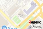 Схема проезда до компании Наной в Рязани