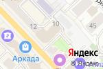 Схема проезда до компании ТНТ-Рязань в Рязани