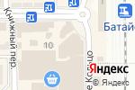 Схема проезда до компании Эко Life в Батайске