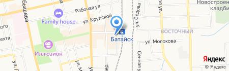 Надежда на карте Батайска