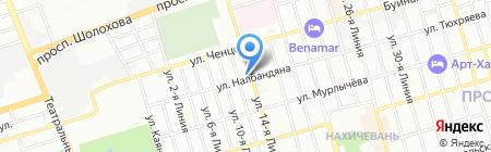 ХолодСпецСтрой на карте Ростова-на-Дону