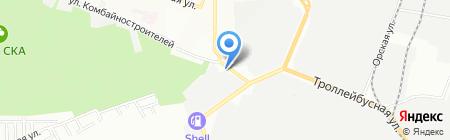 Цех Жестяных Изделий на карте Ростова-на-Дону