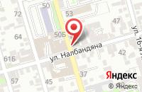 Схема проезда до компании Стекломонтаж в Ростове-На-Дону