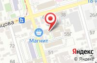 Схема проезда до компании Оникс в Ростове-На-Дону