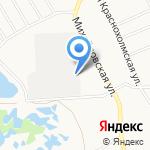 Кирпичный торговый дом на карте Ярославля