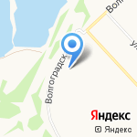 Каменная слеза на карте Ярославля
