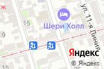 Схема проезда до компании Добрыня в Ростове-на-Дону