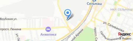 Стройтехсервис на карте Ростова-на-Дону