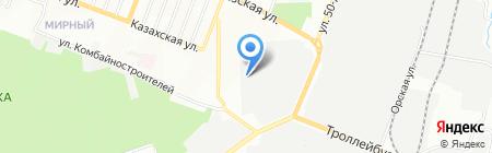 Долмир на карте Ростова-на-Дону