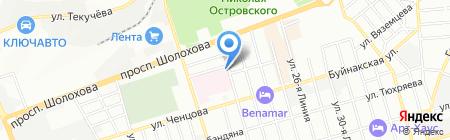 Онкологический центр РНИОИ на карте Ростова-на-Дону