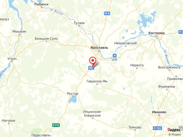 деревня Белкино на карте